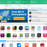 Accesare fisiere telefon - MoboPlay